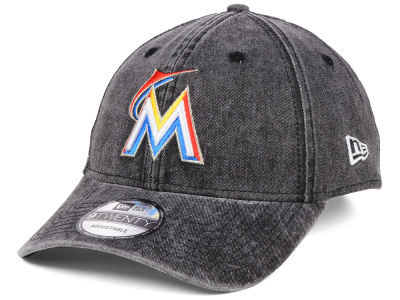 Miami Marlins New Era MLB Italian Washed 9TWENTY Cap