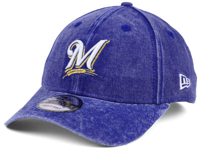 Milwaukee Brewers New Era MLB Italian Washed 9TWENTY Cap