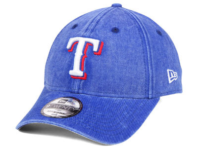 Texas Rangers New Era MLB Italian Washed 9TWENTY Cap
