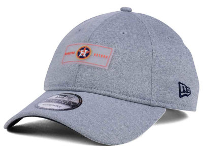 Houston Astros New Era MLB Clear Patch 9TWENTY Strapback Cap