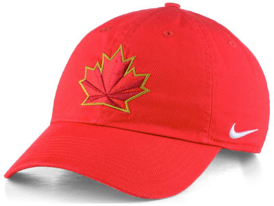 Canada Hockey Nike IIHF Olympics H86 Adjustable Rink Cap