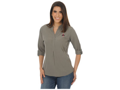 Ohio State Buckeyes University Girls NCAA Women's Classic Button Down Tunic
