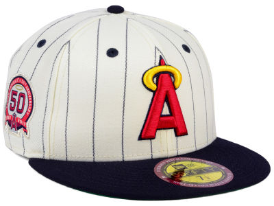 Los Angeles Angels New Era MLB The Coop Ultimate Patch Collection 59FIFTY Cap
