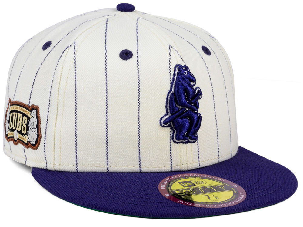 Chicago Cubs New Era MLB The Coop Ultimate Patch Collection 59FIFTY Cap  eb6d66ce1
