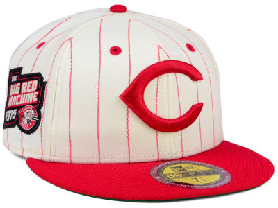 Cincinnati Reds New Era MLB The Coop Ultimate Patch Collection 59FIFTY Cap
