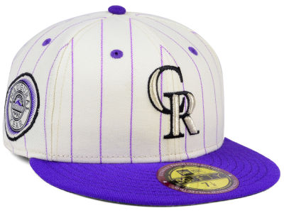 Colorado Rockies New Era MLB The Coop Ultimate Patch Collection 59FIFTY Cap