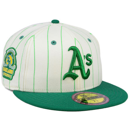 Oakland Athletics New Era MLB The Coop Ultimate Patch Collection 59FIFTY Cap