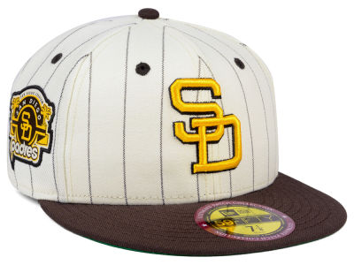San Diego Padres New Era MLB The Coop Ultimate Patch Collection 59FIFTY Cap