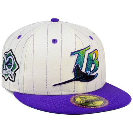 Tampa Bay Rays New Era MLB The Coop Ultimate Patch Collection 59FIFTY Cap