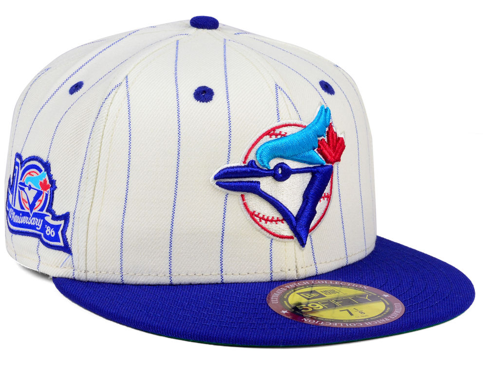 Toronto Blue Jays New Era MLB The Coop Ultimate Patch Collection 59FIFTY Cap   a8bf02a8ecc5