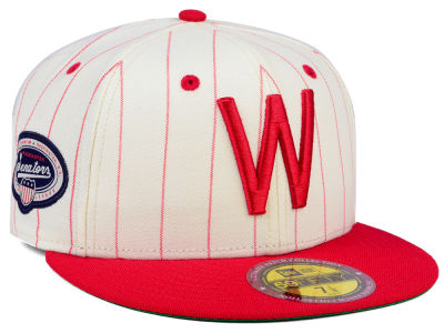 Washington Senators New Era MLB The Coop Ultimate Patch Collection 59FIFTY Cap