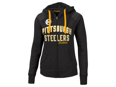 Pittsburgh Steelers G-III Sports NFL Women's Conference Full Zip Jacket