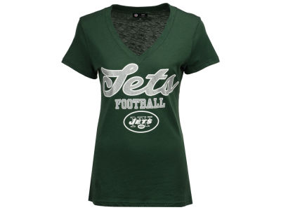 New York Jets G-III Sports NFL Women's Playoff Glitter T-Shirt