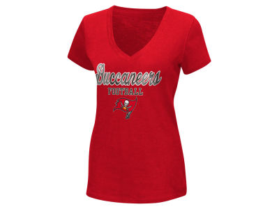 Tampa Bay Buccaneers G-III Sports NFL Women's Playoff Glitter T-Shirt