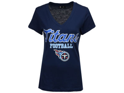 Tennessee Titans G-III Sports NFL Women's Playoff Glitter T-Shirt