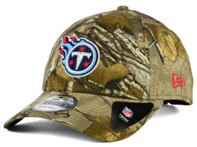 Tennessee Titans New Era NFL The League Realtree 9FORTY Cap