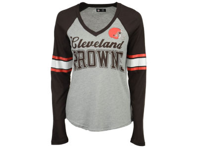 Cleveland Browns G-III Sports NFL Women's In the Zone Long Sleeve T-Shirt