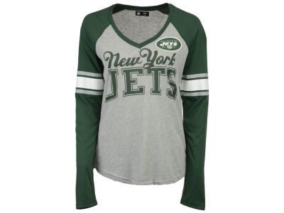 New York Jets G-III Sports NFL Women's In the Zone Long Sleeve T-Shirt