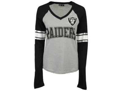 Oakland Raiders G-III Sports NFL Women's In the Zone Long Sleeve T-Shirt