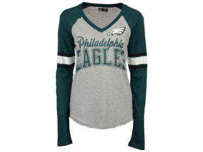 Philadelphia Eagles G-III Sports NFL Women's In the Zone Long Sleeve T-Shirt