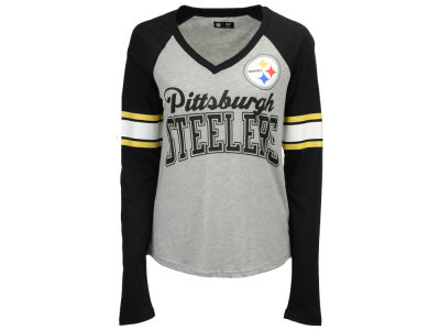 Pittsburgh Steelers G-III Sports NFL Women's In the Zone Long Sleeve T-Shirt