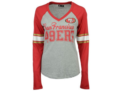 d381fed6129 San Francisco 49ers G-III Sports NFL Women s In the Zone Long Sleeve T-