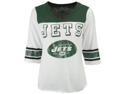 New York Jets Touch by Alyssa Milano NFL Women's Touchdown T-Shirt