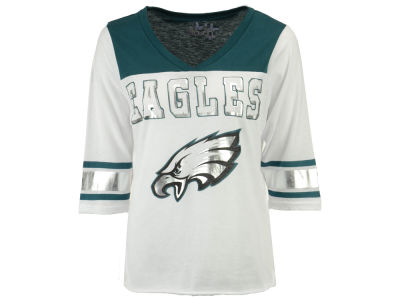 Philadelphia Eagles Touch by Alyssa Milano NFL Women's Touchdown T-Shirt