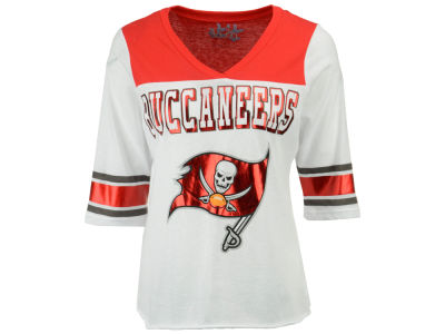 Tampa Bay Buccaneers Touch by Alyssa Milano NFL Women's Touchdown T-Shirt