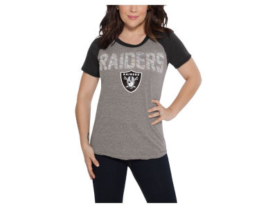 Oakland Raiders Touch by Alyssa Milano NFL Women's Conference T-Shirt