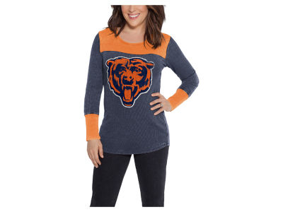 Chicago Bears Touch by Alyssa Milano NFL Women's Blindside Thermal Long Sleeve T-Shirt
