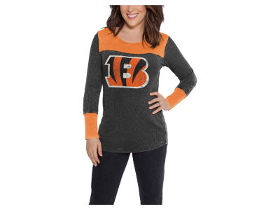 Cincinnati Bengals Touch by Alyssa Milano NFL Women's Blindside Thermal Long Sleeve T-Shirt