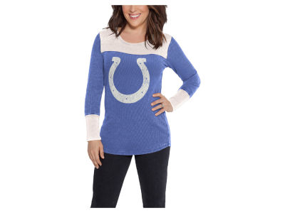 Indianapolis Colts Touch by Alyssa Milano NFL Women's Blindside Thermal Long Sleeve T-Shirt