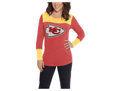 Kansas City Chiefs Touch by Alyssa Milano NFL Women's Blindside Thermal Long Sleeve T-Shirt