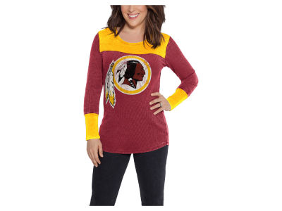 Washington Redskins Touch by Alyssa Milano NFL Women's Blindside Thermal Long Sleeve T-Shirt