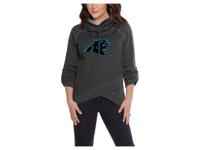 Carolina Panthers Touch by Alyssa Milano NFL Women's Wildcard Hooded Sweatshirt