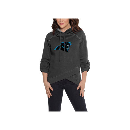 Carolina Panthers Touch By Alyssa Milano NFL Women's Wildcard Hooded Sweatshirt