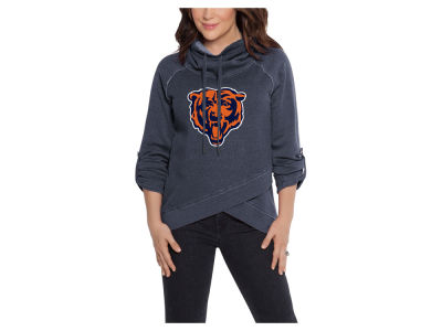 Chicago Bears Touch by Alyssa Milano NFL Women's Wildcard Hooded Sweatshirt