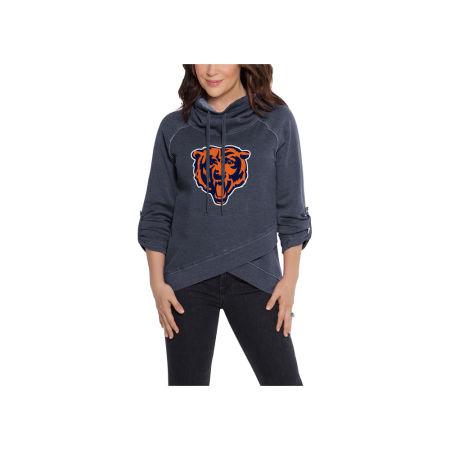 Chicago Bears Touch By Alyssa Milano NFL Women's Wildcard Hooded Sweatshirt
