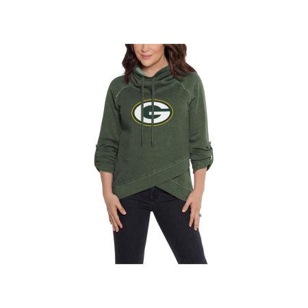 Green Bay Packers Touch By Alyssa Milano NFL Women's Wildcard Hooded Sweatshirt