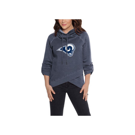 Los Angeles Rams Touch By Alyssa Milano NFL Women's Wildcard Hooded Sweatshirt
