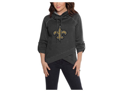 New Orleans Saints Touch by Alyssa Milano NFL Women's Wildcard Hooded Sweatshirt