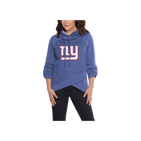 New York Giants Touch By Alyssa Milano NFL Women's Wildcard Hooded Sweatshirt