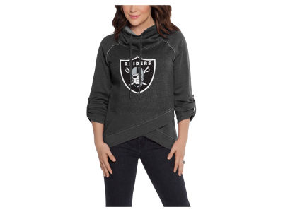 Oakland Raiders Touch by Alyssa Milano NFL Women's Wildcard Hooded Sweatshirt