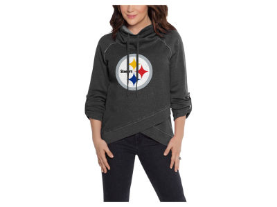 Pittsburgh Steelers Touch by Alyssa Milano NFL Women's Wildcard Hooded Sweatshirt