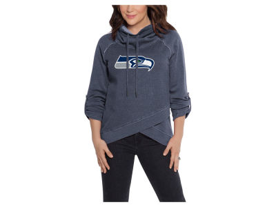 Seattle Seahawks Touch by Alyssa Milano NFL Women's Wildcard Hooded Sweatshirt