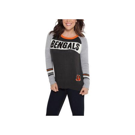 Cincinnati Bengals Touch By Alyssa Milano NFL Women's Team Spirit Sweater