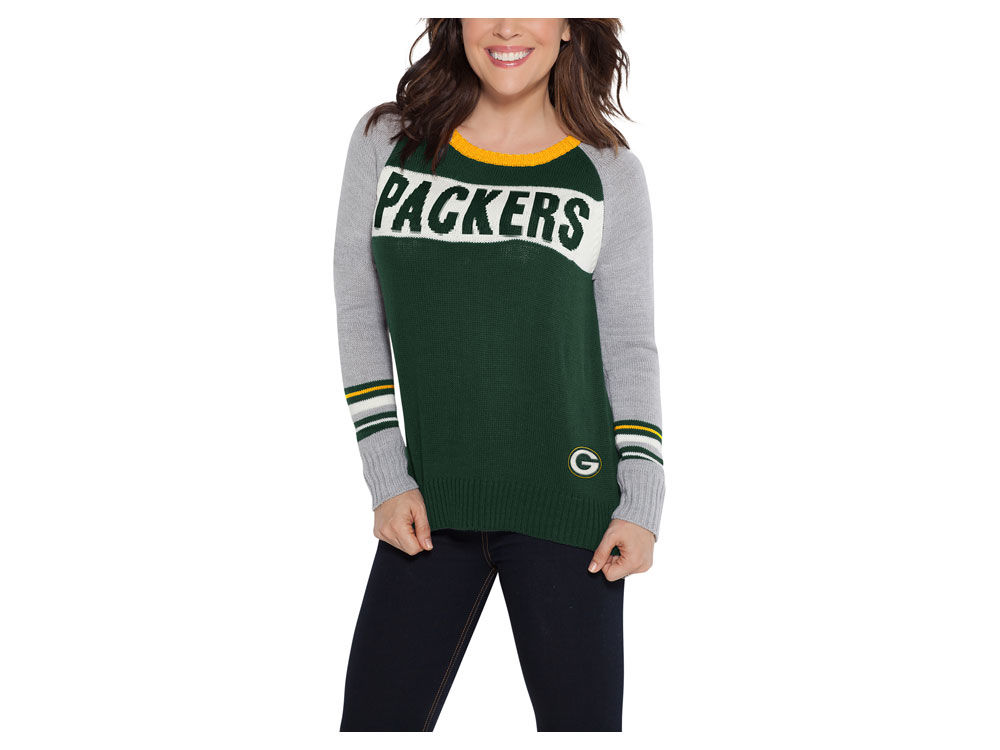 Green Bay Packers Touch by Alyssa Milano NFL Women s Team Spirit Sweater  aaf9eccb3