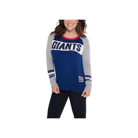 New York Giants Touch By Alyssa Milano NFL Women's Team Spirit Sweater