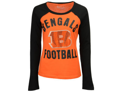 Cincinnati Bengals Touch by Alyssa Milano NFL Women's Touchback Long Sleeve T-Shirt